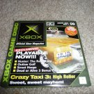 Demo Disk #09 (Xbox System) Taxi 3 FREE SHIPPING