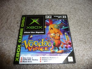 Demo Disk #23 (Xbox System) Voodoo Vince FREE SHIPPING