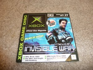 Demo Disk #27 (Xbox System) Deus-ex FREE SHIPPING
