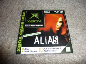 Demo Disk #31 (Xbox System) Alias FREE SHIPPING