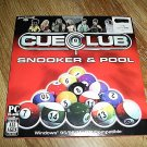 Cue-Club Snooker & Pool PC Game New (FREE SHIPPING)