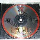 Hardball 5 Baseball Game For PC (FREE SHIPPING)