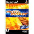 Magix Music Maker Sony Playstation 2 (FREE SHIPPING)