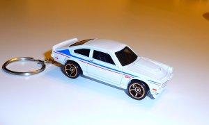 Custom V-8 Chevy Vega Car Keychain (FREE SHIPPING)