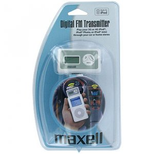 MAXELL® DIGITAL FM TRANSMITTER