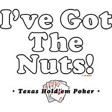 Funny Texas Holdem Poker T Shirt Tee Sizes Medium, Large, Xl, 2xl Style#4