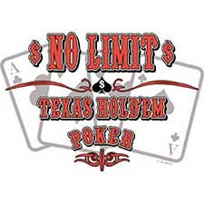 Texas Holdem Poker T Shirt Tee Sizes 3xl ( Xxxl ), 4xl ( Xxxxl ) Style#13