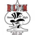Holdem Texas Style Poker T Shirt Tee Sizes ( Xxxl ), 4xl ( Xxxxl ) Style#17