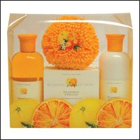 ASQUITH & SOMERSET Grapefruit & Orange Bath Set 4 pc