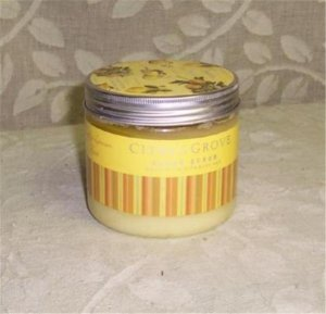 Citrus Grove Lemon Zest Body Scrub 16 oz