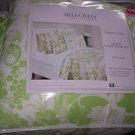 Hillcrest Queen Comforter Shams Pillows Tiger Lily Green White