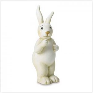 Standing Rabbit Figurine
