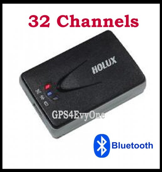 Holux M1000 32 channel bluetooth GPS receiver for PDA smartphone laptop