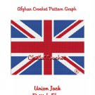 CHELLA*CROCHET British Union Jack Flag Afghan Crochet Pattern Graph emailed to you