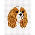 CHELLA*CROCHET Cavalier King Charles Spaniel Dog Afghan Crochet Pattern Graph EMAILED COCKER