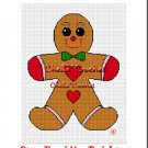 CHELLA*CROCHET Christmas Gingerbread Man Afghan Crochet Pattern Graph EMAILED .PDF