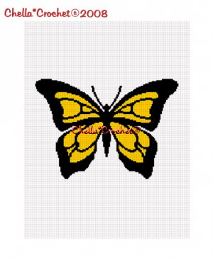 Crochet Butterfly Afghan Crochet Pattern | Red Heart