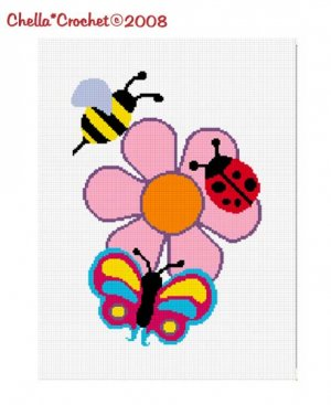 Lady Bug Potholder - Free Crochet Pattern