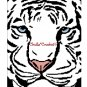 CHELLA*CROCHET White Siberian Tiger Close Up Afghan Crochet Pattern Graph Emailed to you