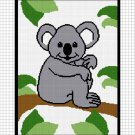 Sale See Shop Koala Bear In A Jungle Tree Baby Afghan Crochet Pattern Graph