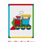 Toy Choo Train Engine Tank Afghan Crochet Pattern Graph