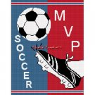 Soccer Ball Kick MVP Afghan Crochet Pattern Graph