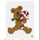 Teddy Bear Candy Cane Afghan Crochet Pattern Graph