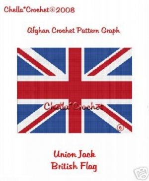 Confederate Rebel Flag Afghan Crochet Pattern Graph