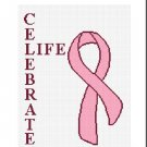 Breast Cancer Celebrate Life Afghan Crochet Pattern
