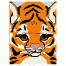 Bengal Tiger Cub Baby  Afghan Crochet Pattern Graph