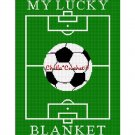 My Lucky Soccer Blanket Afghan Crochet Pattern Graph