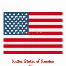 American Flag Stars Stripe Afghan Crochet Pattern Graph