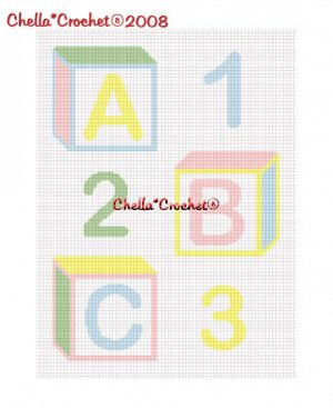 Free Crochet Pattern: Leaping Stripes and Blocks Blanket