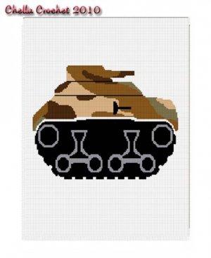 Amigurumi Army Tank - Crochet Tank Pattern - Tank Pillow