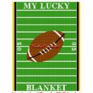 My Lucky Football Blanket Afghan Crochet Pattern Graph