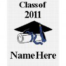 Graduation Class of 2011 Afghan Crochet Pattern Graph