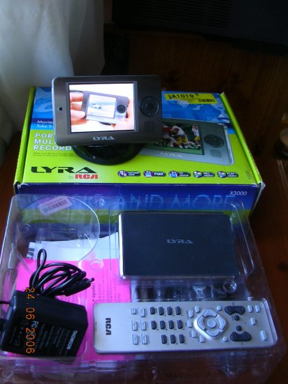 RCA Lyra X3030 30GB Digital Media Recorder/MP3