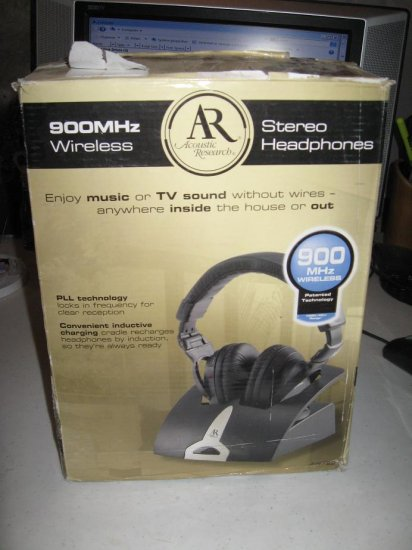 ACOUSTIC RESEARCH AW722 WIRELESS STEREO HEADPHONES