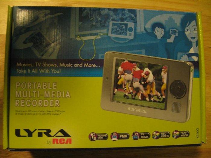 RCA Lyra X3000 20GB Digital Media Recorder/MP3 NEW in open box