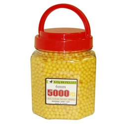 5000 Yellow BB in Travel Bucket
