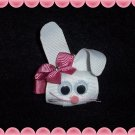 Easter Bunny Hair Bow Clippie ...