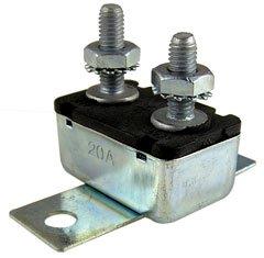 CBU20 Circuit Breaker Universal 20 amp; w/bracket