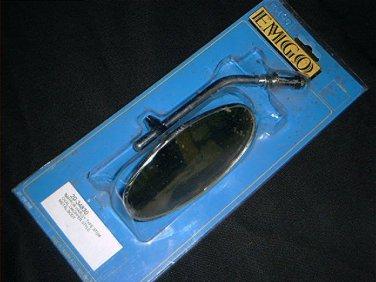 MIRROR EMGO 20-34830 Metal Harley Stem Left or Right