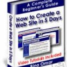 Create Your Own Website in 5 Days Ebook