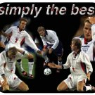 David Beckham #1 (England) Mouse Pad