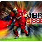 Djibril Cisse (France) Mouse Pad