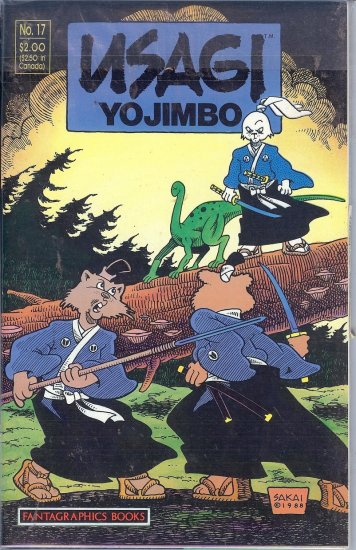 Usagai Yojimbo  - The Fighting Rabbit - 32 Mint Copies
