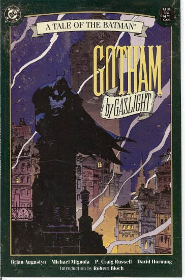Bat Man - A Tale of the Batman - Gotham by Gaslight - 1989