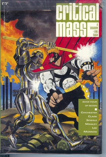 Critical Mass - A Shadow Line Saga - 7 Mint Copies