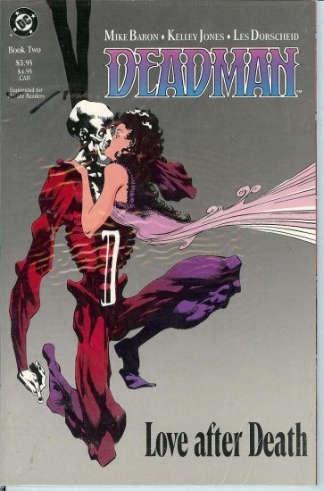 Dead Man- By - Mike Baron - Kelly Jones - Les Dorscheid